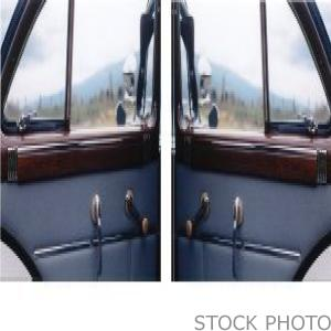 Rear Door Window (Not Actual Photo)
